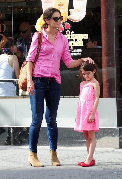 Кейти Холмс и дъщеря и Сури