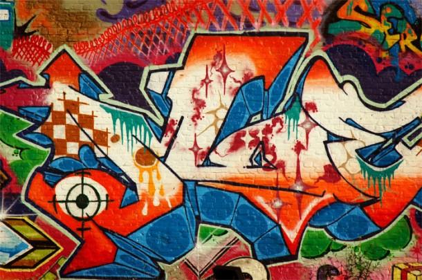 graffiti na kanala