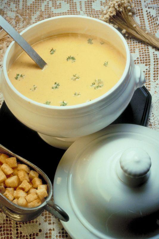 Супа от картофи с кресон